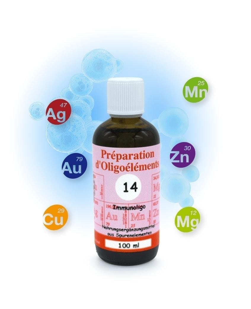 Immunoligo POE14 100ml Préparation d'Oligoéléments Laboratoires Bioligo