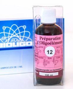 POE 12 Préparation Complexe d'Oligoéléments Laboratoires Bioligo