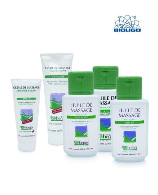 Pour le Massage Crème & Huiles Laboratoires Bioligo