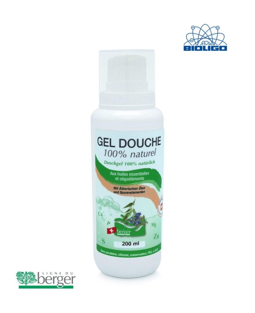 Shampooing Douche Naturel Berger 200ml Laboratoires Bioligo