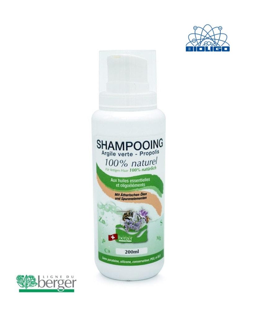 Shampooing Argile Verte Berger 200ml Laboratoires Bioligo