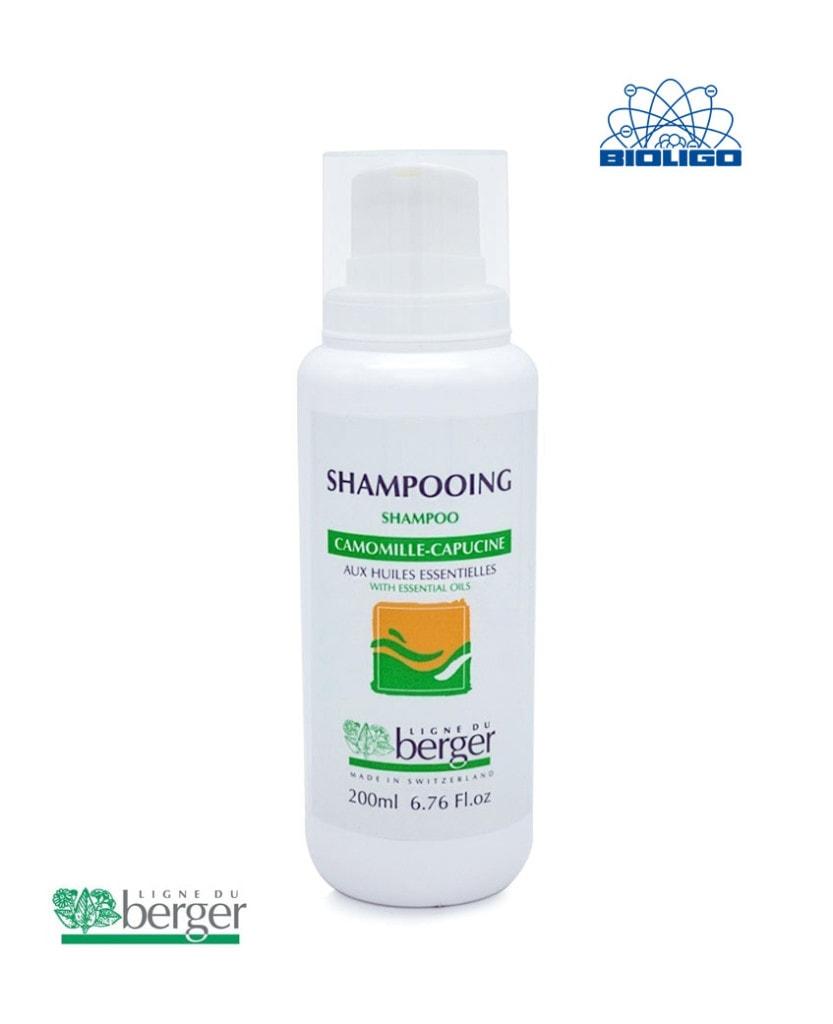 Shampooing Camomille Capucine Berger 200ml Laboratoires Bioligo