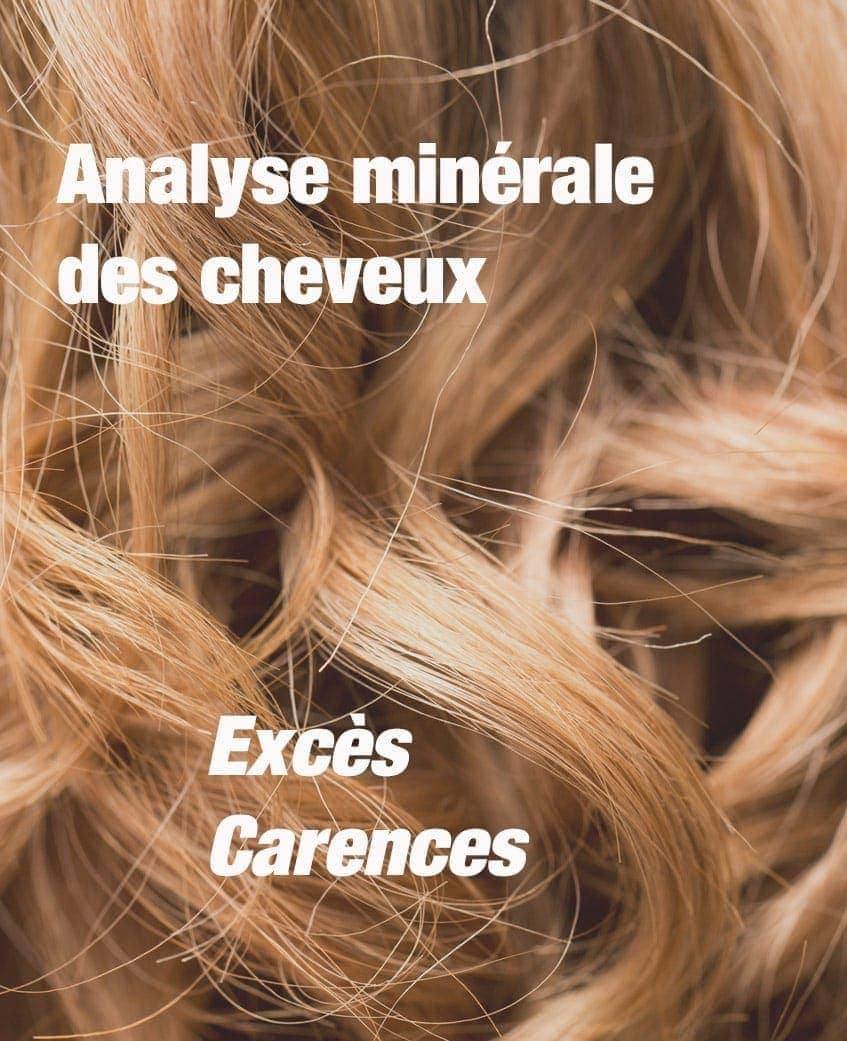 Analyse minérale des cheveux Laboratoires Bioligo