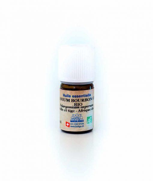 geranium-bourbon-bio Huiles Essentielles Laboratoires Bioligo
