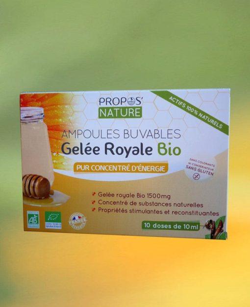 Gelée Royale Bio Propos'Nature Laboratoires Bioligo