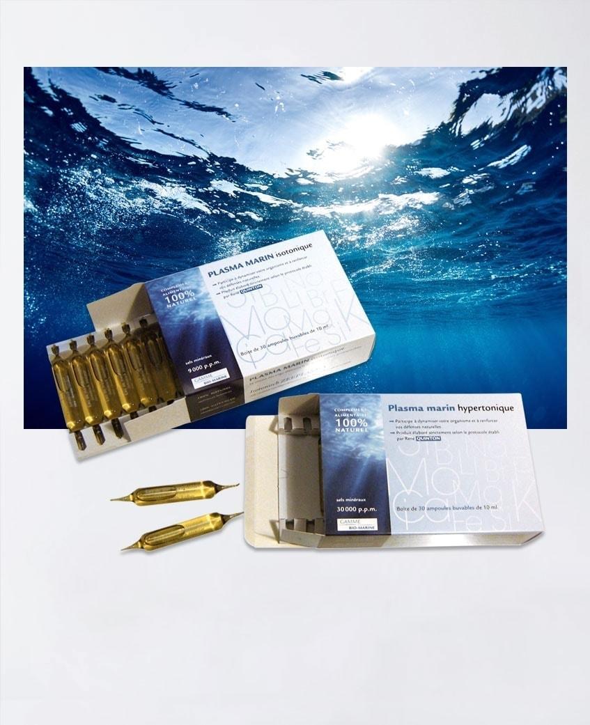 Plasma marin isotonique et hypertonique Propos'Nature Laboratoires Bioligo