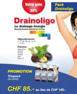 Triopack POE 16 Drainoligo Complexe d'Oligoéléments Laboratoires Bioligo