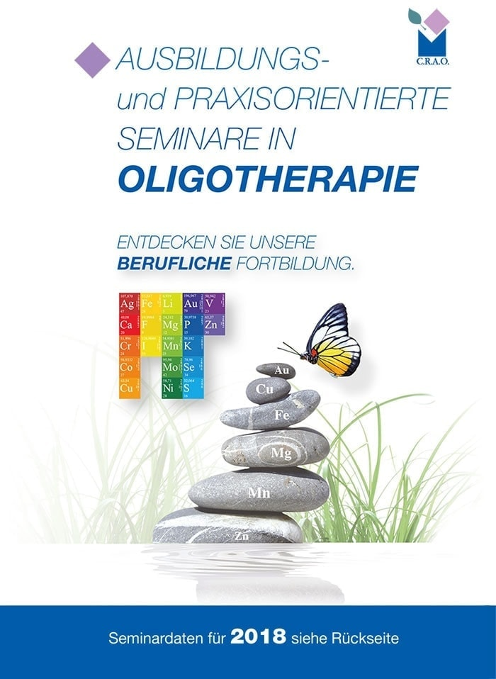 Cours Flyer Oligoéléments all 2018