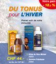 Du Tonus pour l'hiver - Sirop Père Michel + Solution Précieuse Laboratoires Bioligo