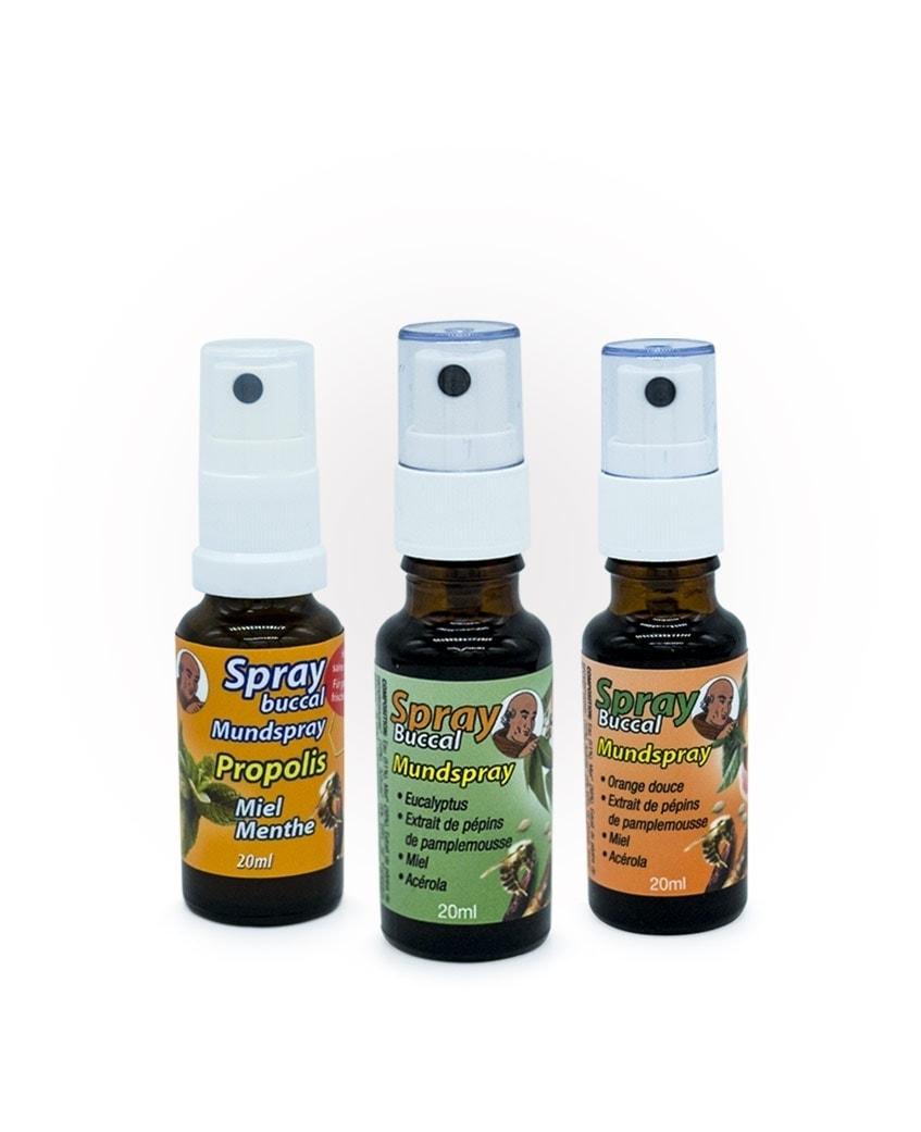 Spray Propolis Eucalyptus Orange Laboratoires Bioligo