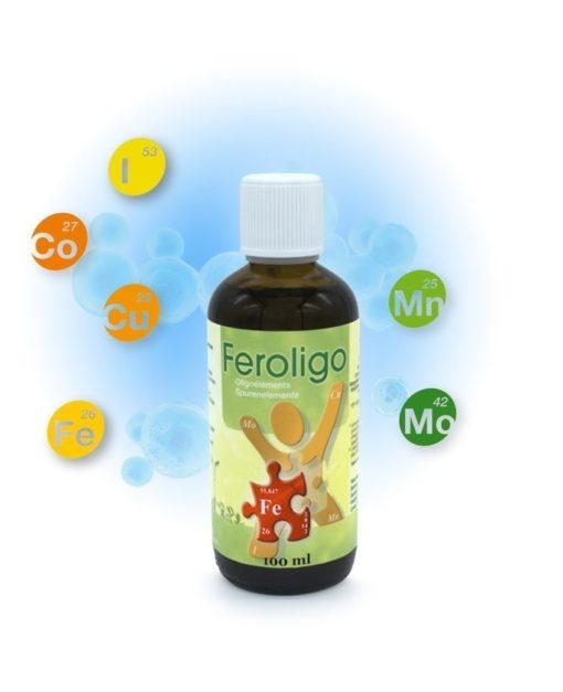 Feroligo POE6 100ml Préparation d'Oligoéléments Laboratoires Bioligo