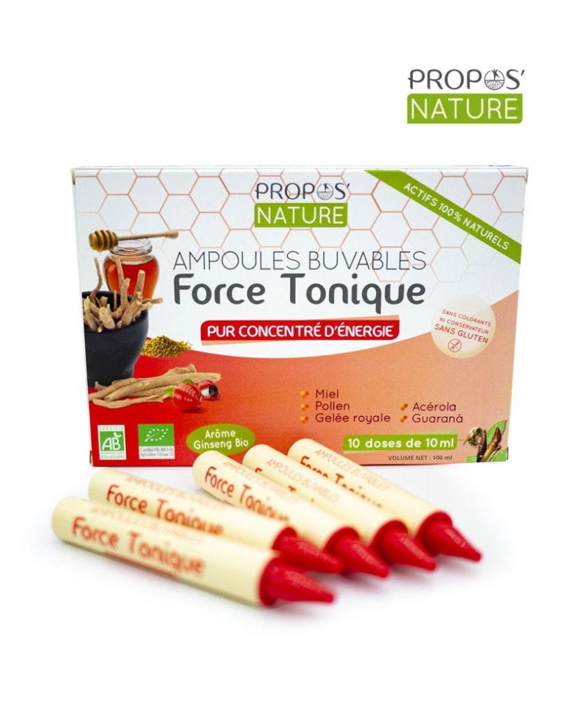 Force tonique Bio Propos Nature Laboratoires Bioligo