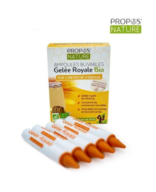 Gelée Royale Bio Propos Nature Laboratoires Bioligo