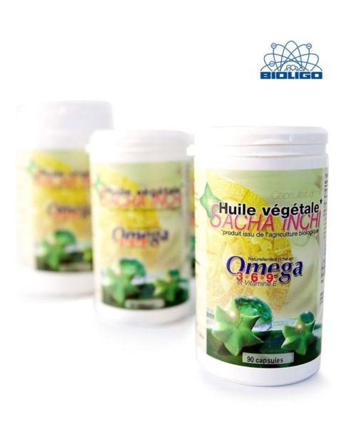 Sacha Inchi Bio Omega 3-6-9 Laboratoires Bioligo