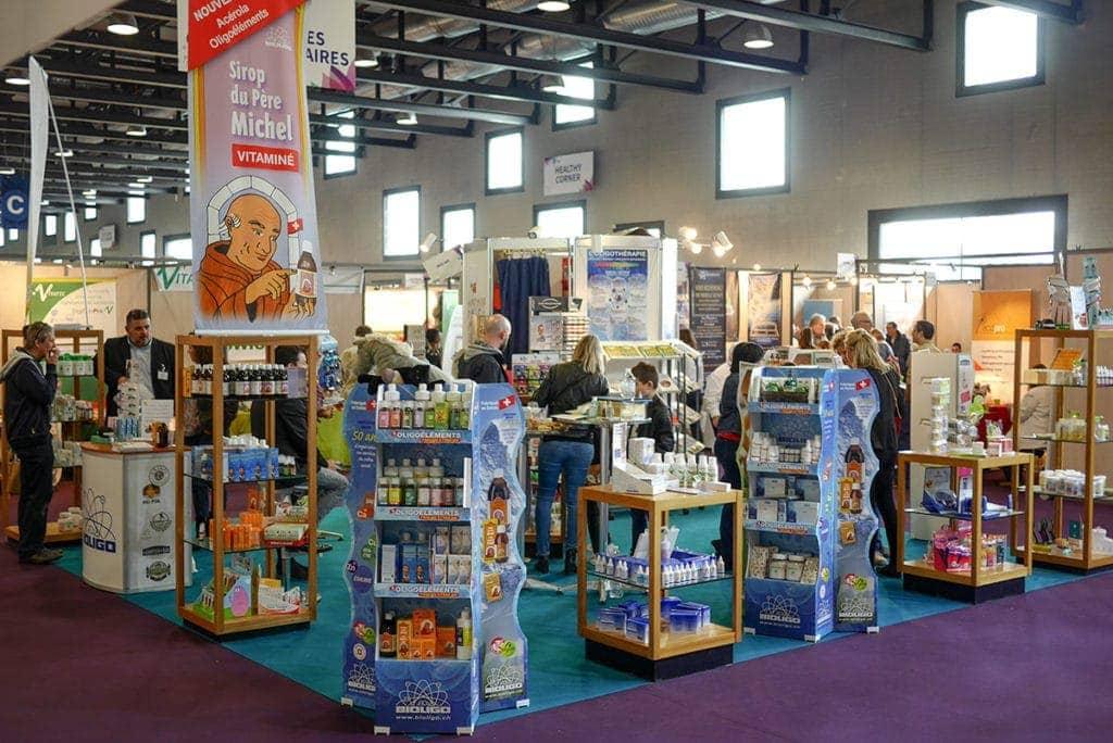 Stand B75 Salon Mednat Laboratoires Bioligo