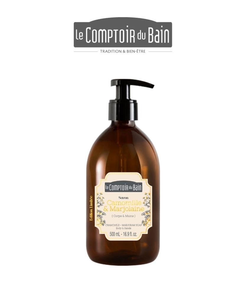 Savon liquide Camomille-Marjolaine Comptoir du Bain