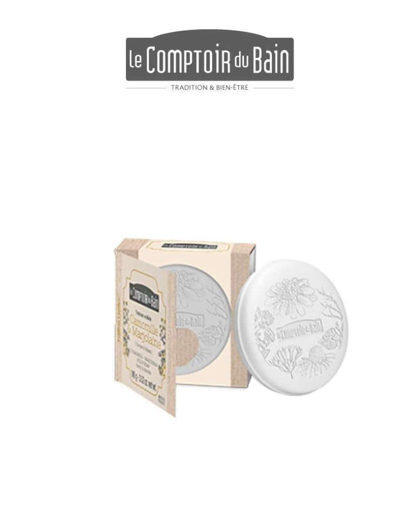Savon pain Camomille-Marjolaine Comptoir du Bain Laboratoires Bioligo