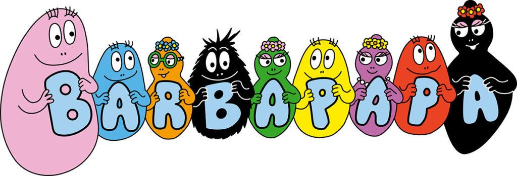Famille Barbapapa Comptoir du Bain Laboratoires Bioligo
