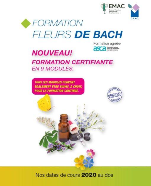 Formation Fleurs de Bach 2020 Laboratoires Bioligo