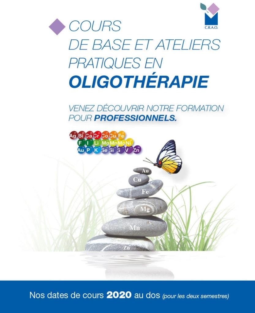 Formation Oligothérapie 2020 Laboratoires Bioligo