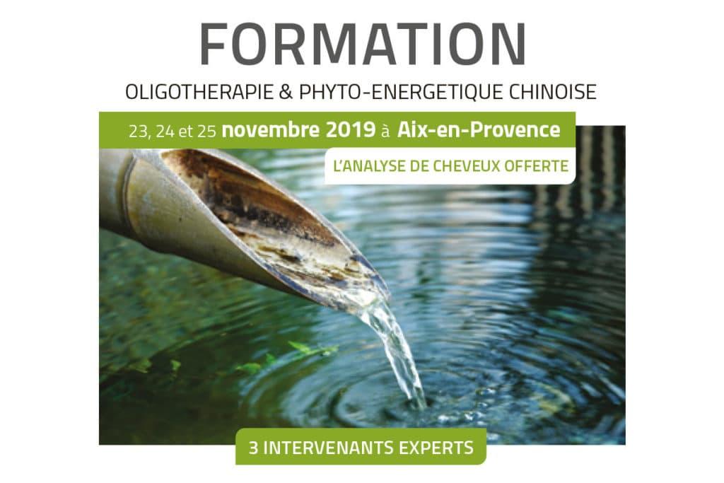 Formation en Oligothérapie & Phyto-Énergétique chinoise Laboratoires Bioligo