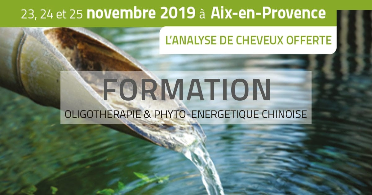 Opengraph Formation en Oligothérapie & Phyto-Énergétique chinoise Laboratoires Bioligo