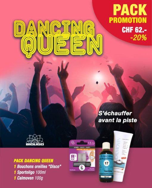 Pack Dancing Queen Promotion Laboratoires Bioligo
