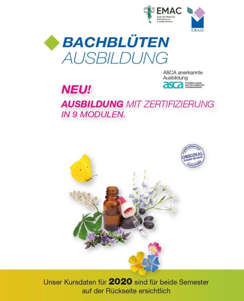 Seminare Fleurs de Bach 2020 all Laboratoires Bioligo