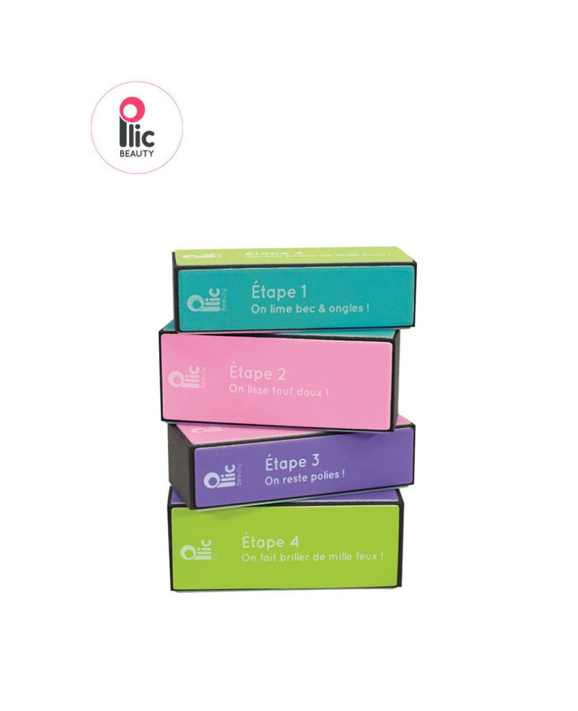 Bloc polissoir 4 faces Plic Laboratoires Bioligo