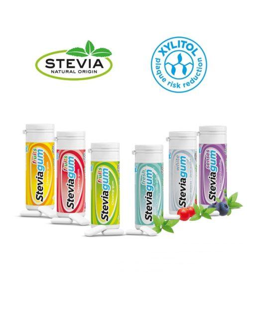 Chewing-gum Stevia Laboratoires Bioligo