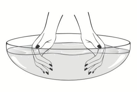 Ciseaux et soin des mains Plic Laboratoires Bioligo