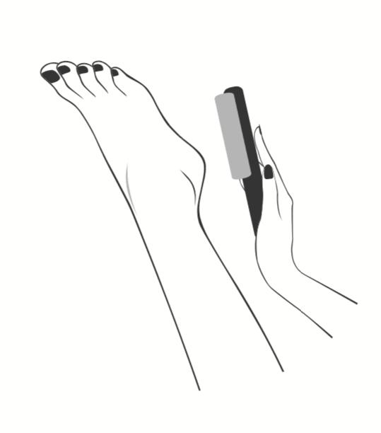 Râpe et soin des pieds Plic Laboratoires Bioligo