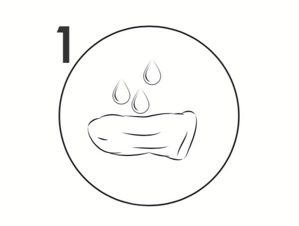 Humidifier avec de l'eau