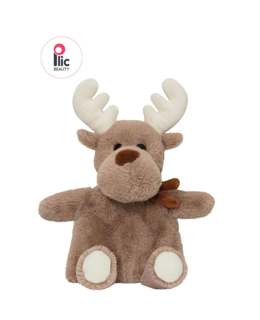 """Bouillotte chaud/froid """"Rudolph"""" Plic Laboratoires Bioligo"""