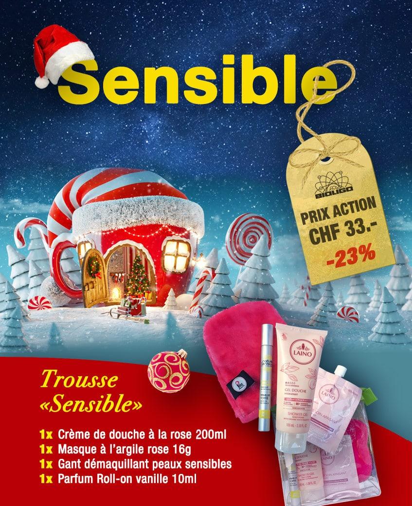 Trousse Noël «Sensible» Laboratoires Bioligo