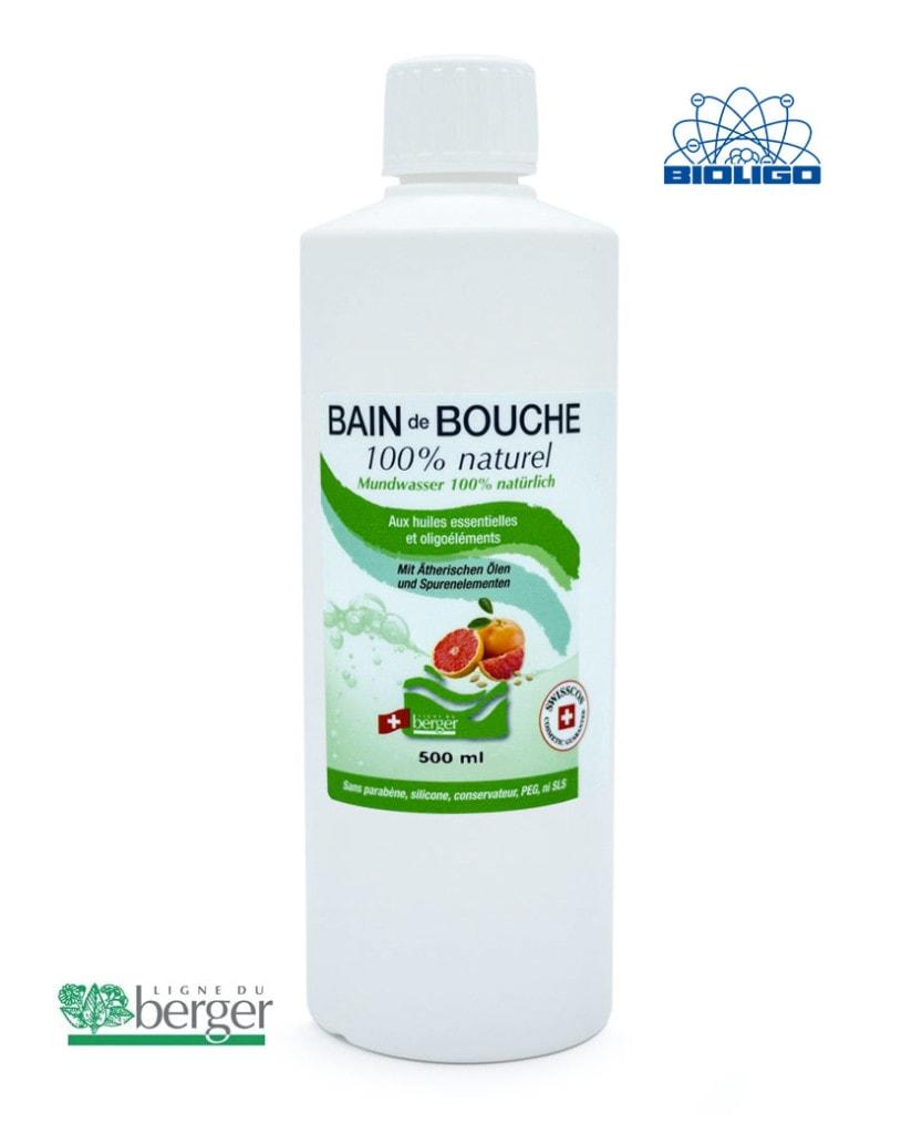 Bain de Bouche Berger 500ml Laboratoires Bioligo