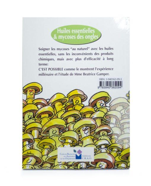 Livre: Huiles essentielles et Mycose des ongles Laboratoires Bioligo