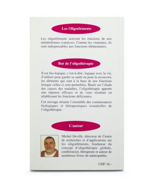 Livre: Les Oligoéléments si peu pour tant Laboratoires Bioligo
