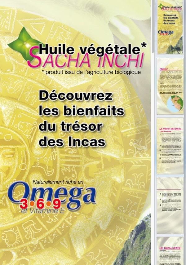 Omega 3-6-9 Sacha Inchi (PDF) Laboratoires Bioligo