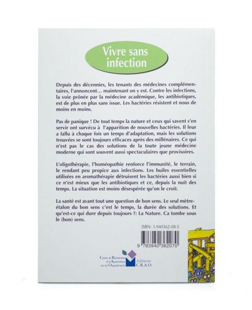 Livre: Vivre sans infection Laboratoires Bioligo