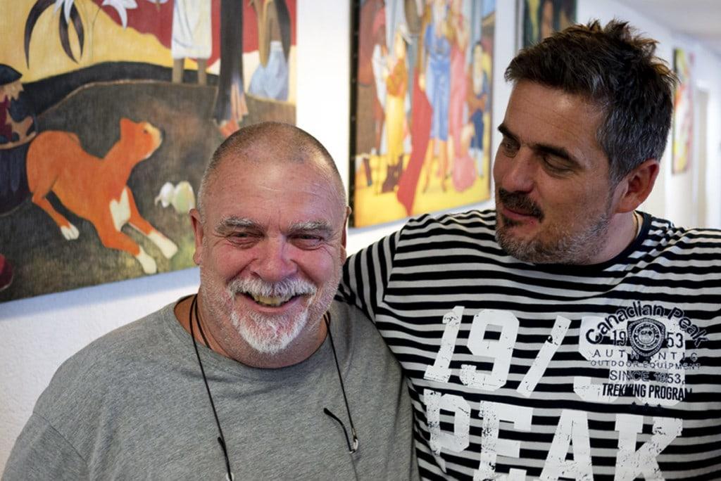 Michel et Frédéric Deville Laboratoires Bioligo à Nyon