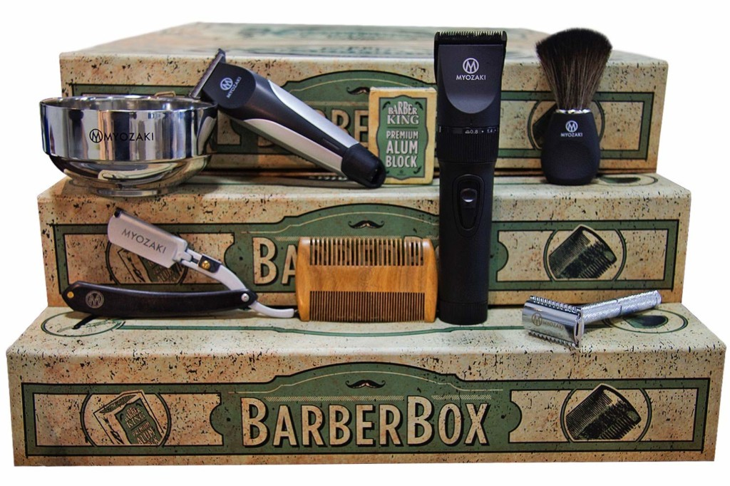 Kit Barber Box Barber King Laboratoires Bioligo