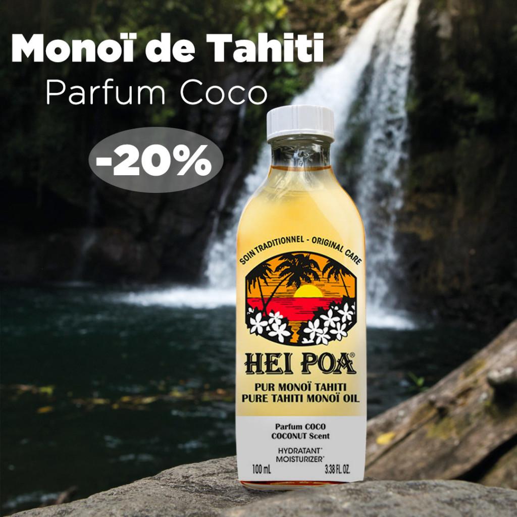 Monoï Tahiti Parfum Coco Tropicale Hei Poa Laboratoires Bioligo