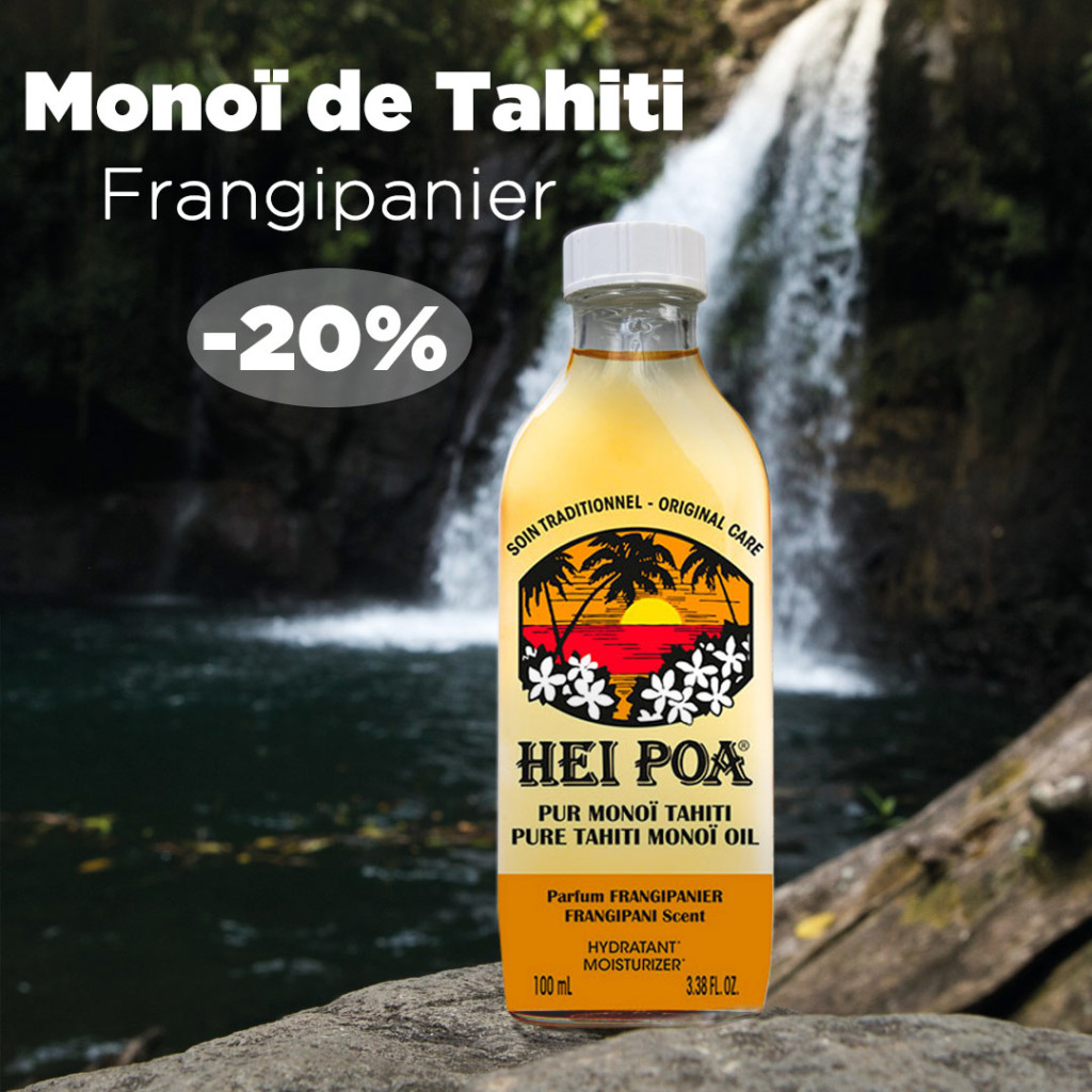 Monoï Tahiti Parfum Frangipanier Tropicale Hei Poa Laboratoires Bioligo