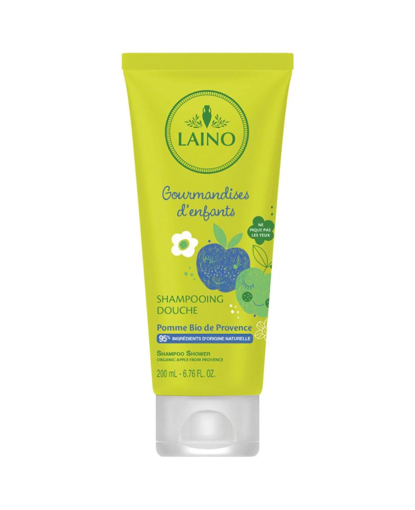 Shampooing douche pommes bio 200ml Laino Laboratoires Bioligo