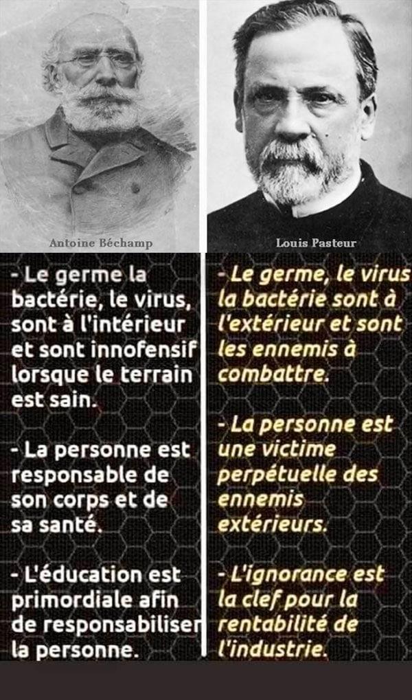 Pasteur et Béchamp Les médecines alternatives sont plus qu'une alternative