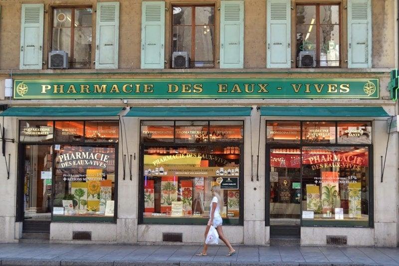 Pharmacie Droguerie Eaux vives Genève Partenaires Laboratoires Bioligo