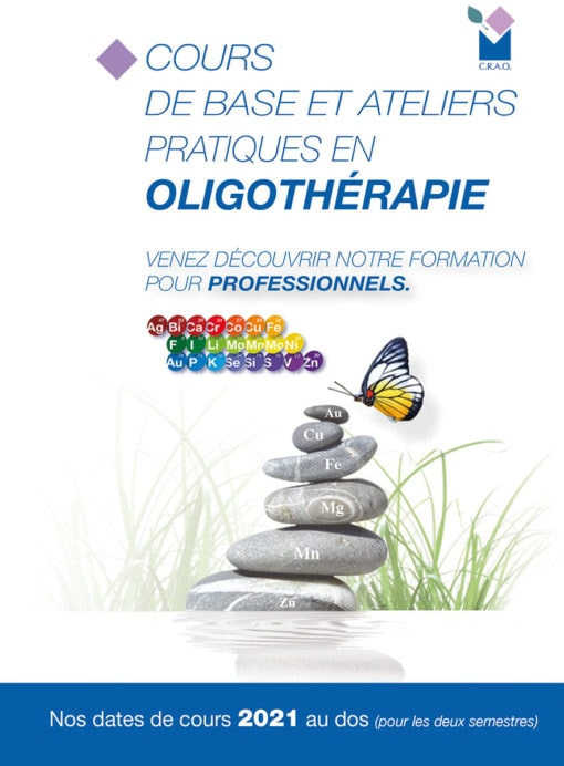 Cours Flyer Oligothérapie 2021