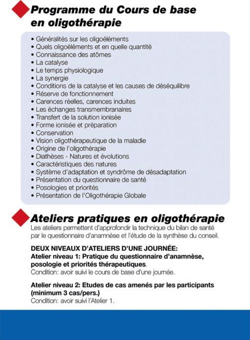 Cours Flyer Oligothérapie 2021-3