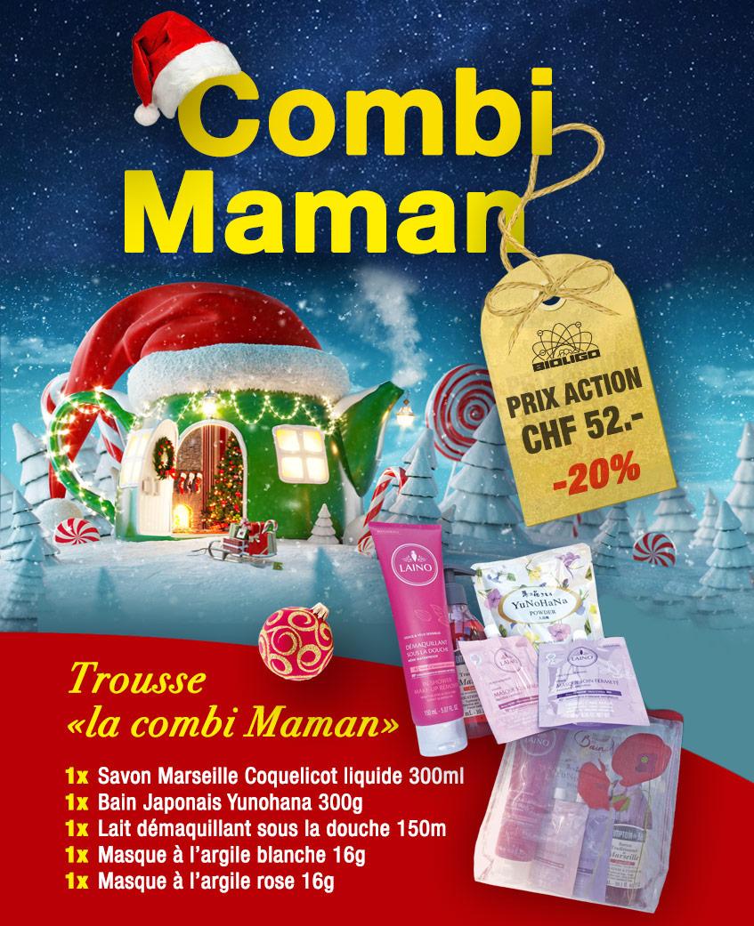 Trousse Noël «la combi Maman» Laboratoires Bioligo